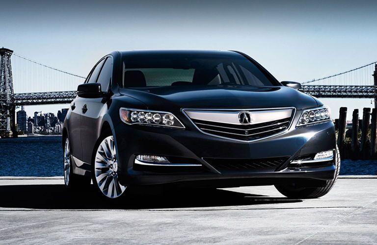 Black Acura RLX