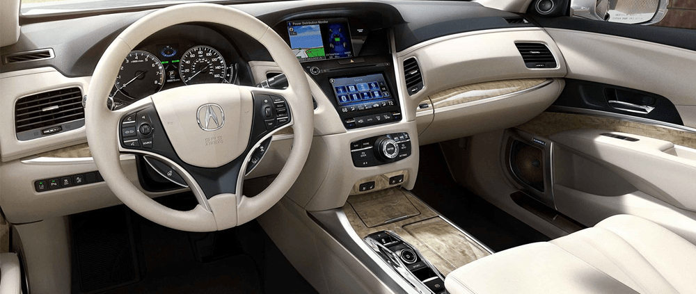 2018 RLX Interior Radley Acura