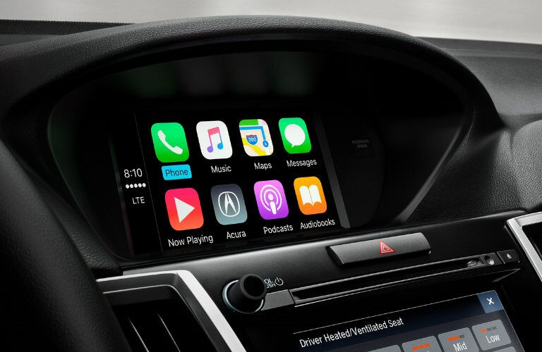 2018 Acura TLX Apple CarPlay Android Auto