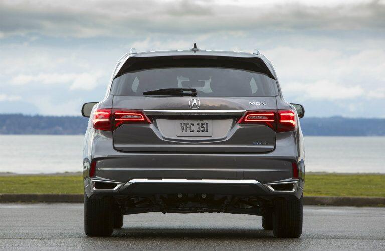 2019 Acura MDX Sport Hybrid SH-AWD rear end