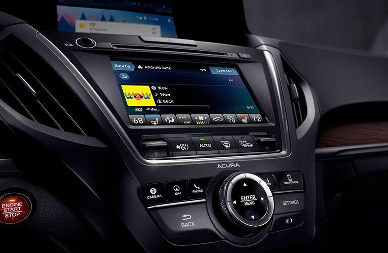2019 Acura MDX infotainment system