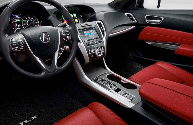 2019 Acura TLX interior front