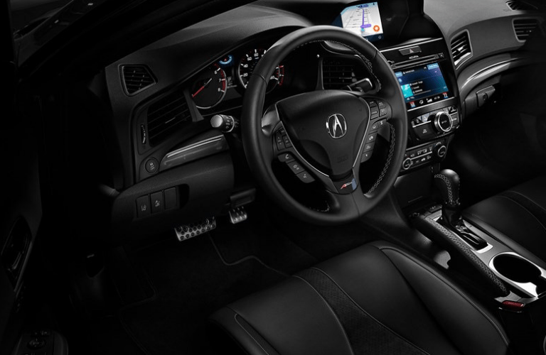 2019 Acura ILX A-Spec Package interior front