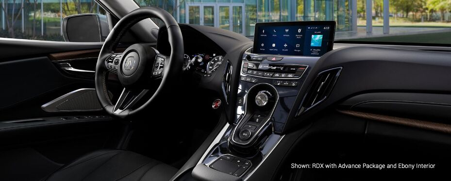 Shown: RDX with Advance Package and Ebony Interior