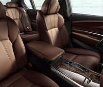 Six-Level Heated & Ventilated Leather Seats