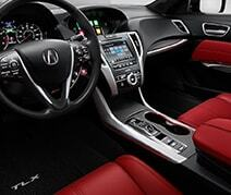Sport-Inspired A-Spec Interior