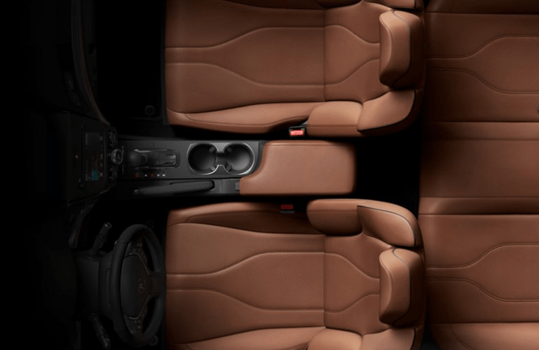 2019 Acura ILX Premium Package overhead view of seating area