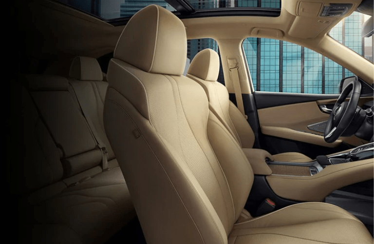 2019 Acura RDX Advance Package interior seating space