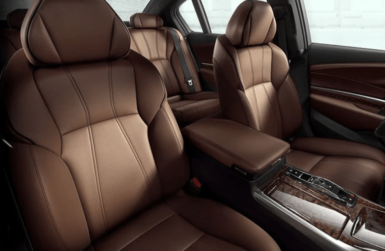 2019 Acura RLX Advance Package interior front