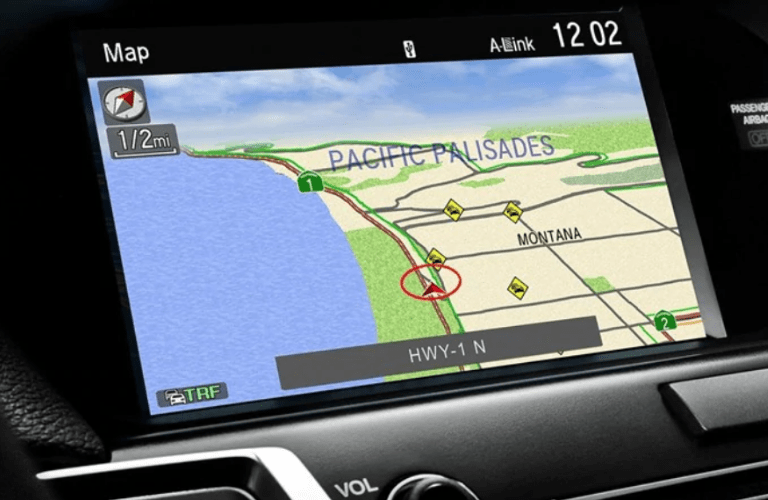 2019 Acura TLX Technology Package navigation system