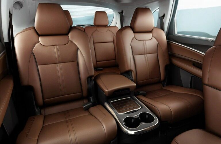 Captain's Chairs inside the 2020 Acura MDX