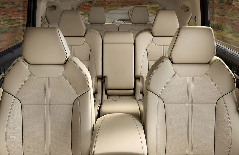 Seats inside the 2020 Acura MDX