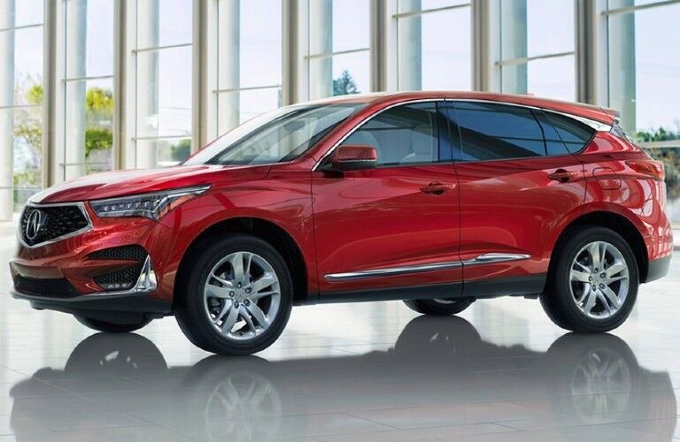 Red 2020 Acura RDX Advance Package
