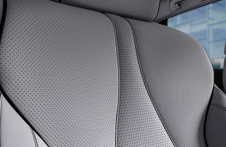Close up of the seat fabric in the 2020 Acura RDX Advance Package
