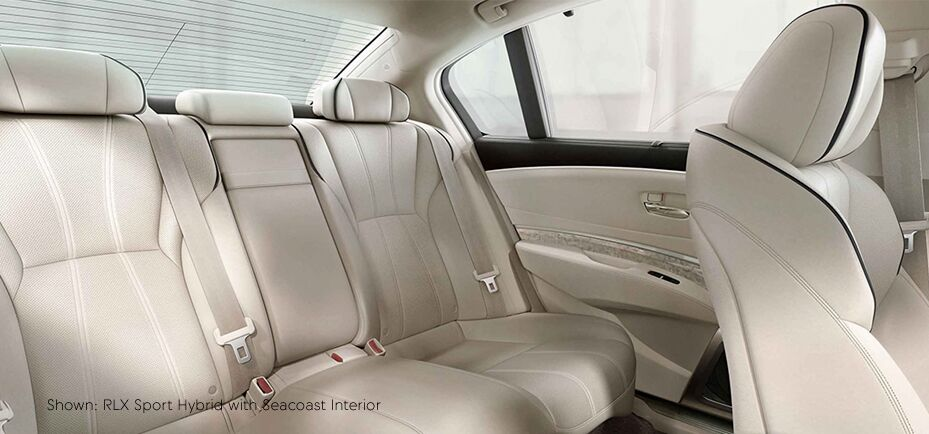 Shown:RLX sport hybrid with seacoast interior