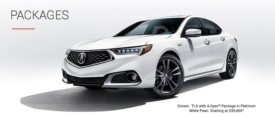 ILX with A-Spec in Platinum White Pearl