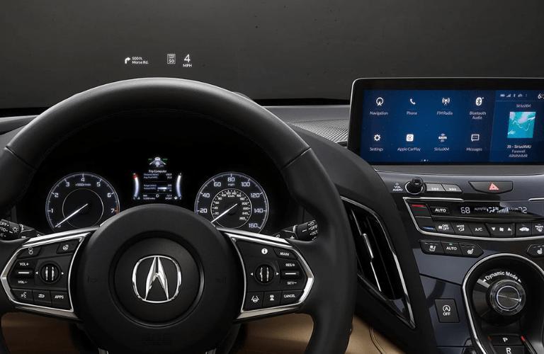 2020 Acura RDX interior front