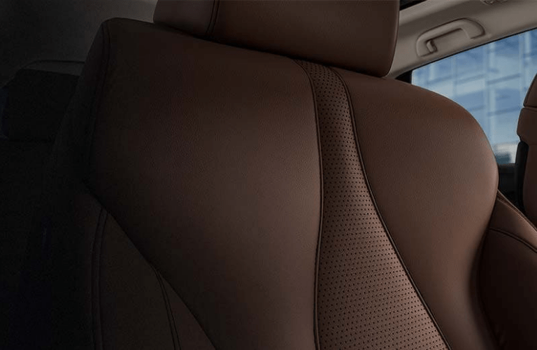 Close up of the Milano premium leather in the 2020 Acura RDX Technology Package