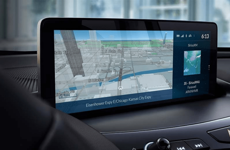 Close up of the Acura Navigation System in the 2020 Acura RDX Technology Package