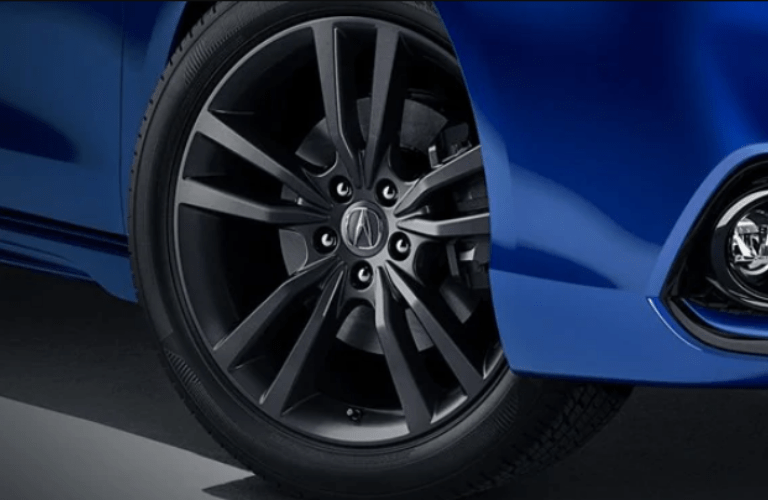 2020 Acura TLX A-Spec Package wheels