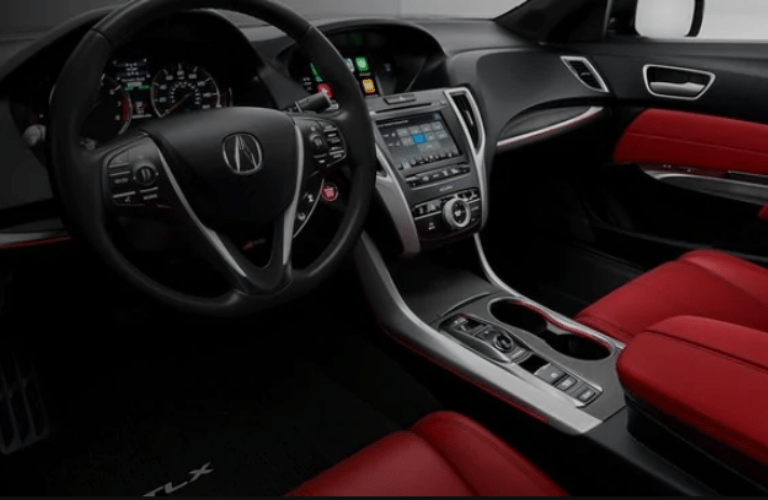 2020 Acura TLX A-Spec Package interior front