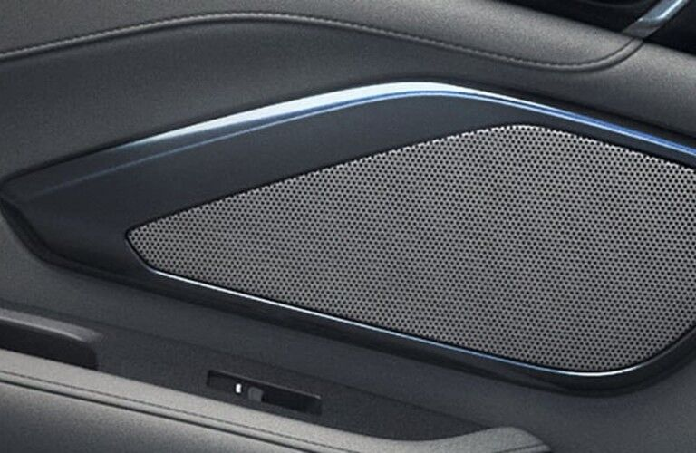 Close up of a speaker in the 2021 Acura RDX Technology Package