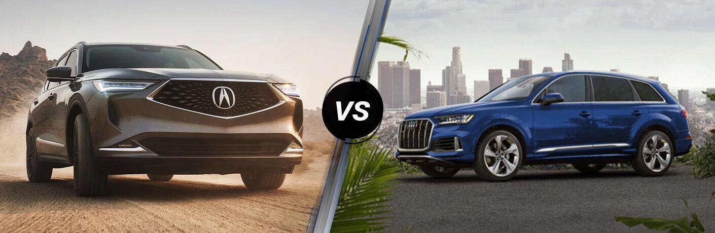 2022 Acura MDX vs 2021 Audi Q7