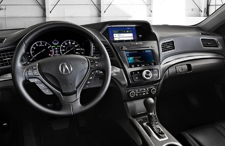 Front interior inside the 2022 Acura ILX
