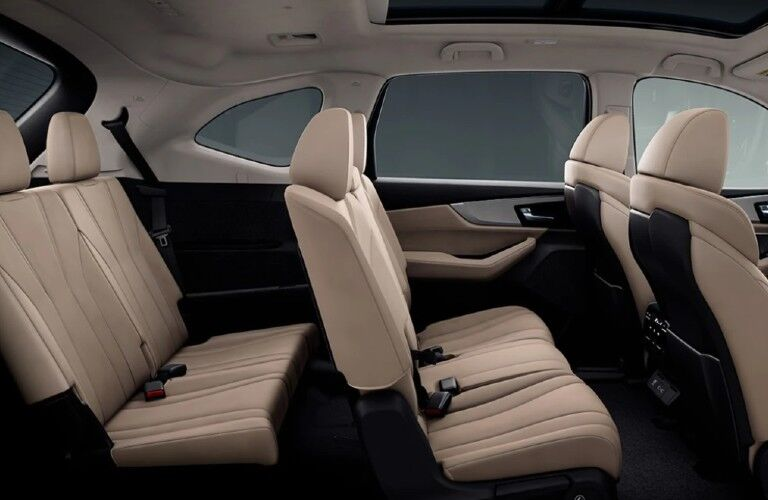Seats inside the 2022 Acura MDX Advance Package
