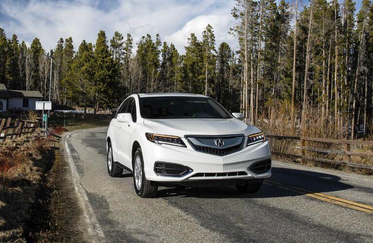 White 2018 Acura RDX