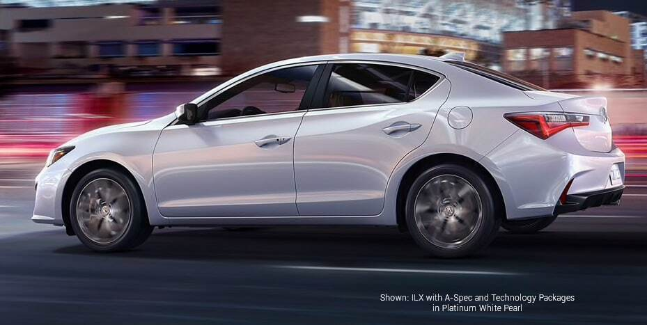 Shown: ILX with A-Spec and Technology Packages in Platinum White Pearl