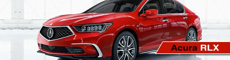 Banner for 2018 Acura RLX with view of front end