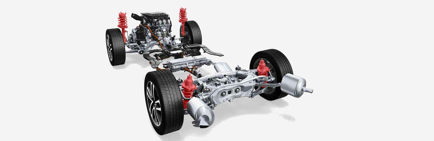 2017 Acura MDX Hybrid Drivetrain