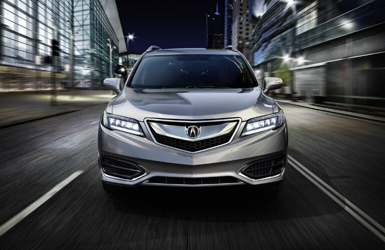 front of a 2017 Acura RDX