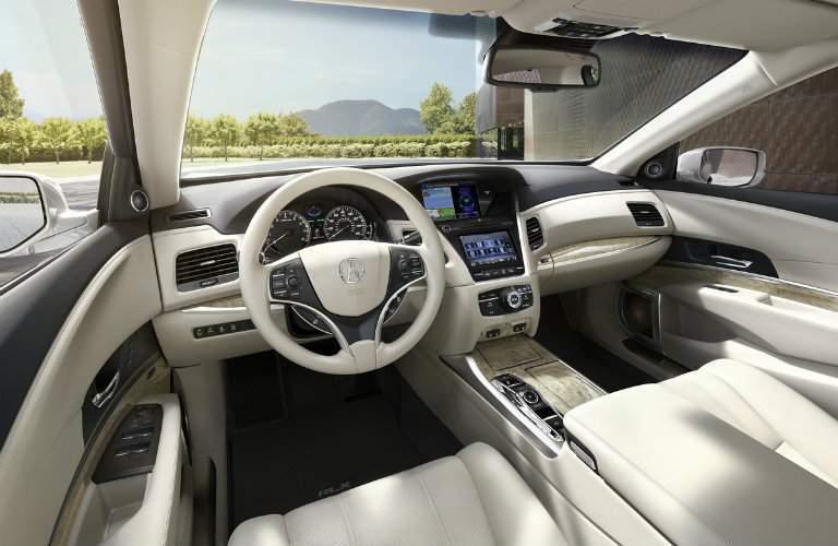 2018 Acura RLX Front Seats
