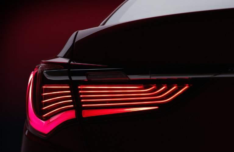 2018 Acura RLX LED taillights