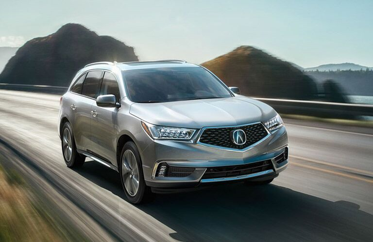 Front End Of The 2018 Acura Mdx