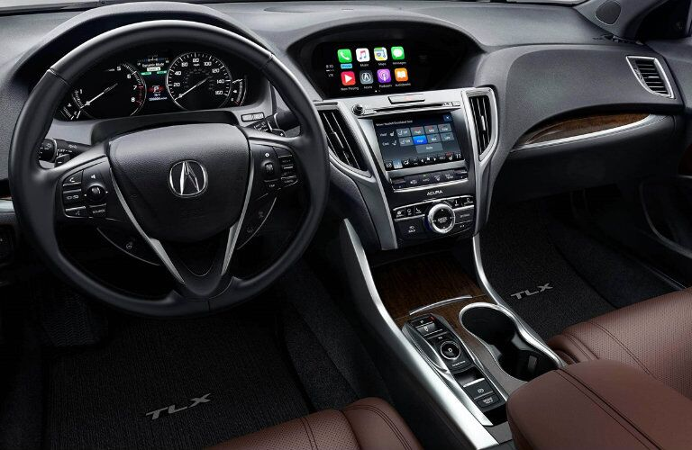 Interior of 2018 Acura TLX