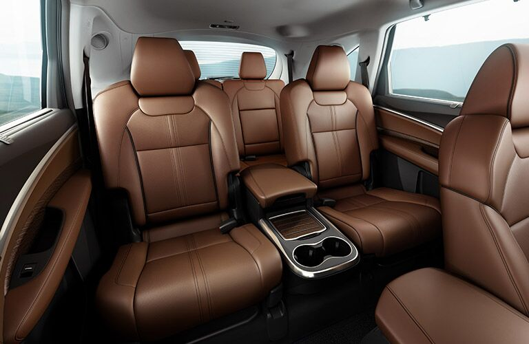Rear seating 2019 Acura MDX