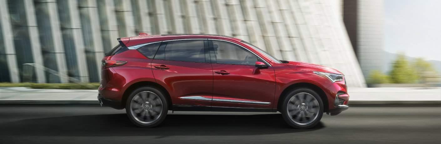 Red 2019 Acura RDX