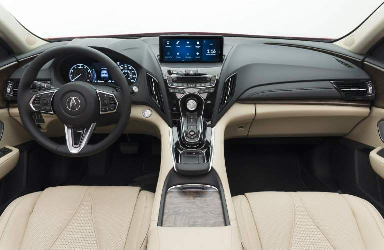 Interior layout of the 2019 Acura RDX