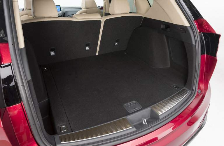 Cargo space of the 2019 Acura RDX