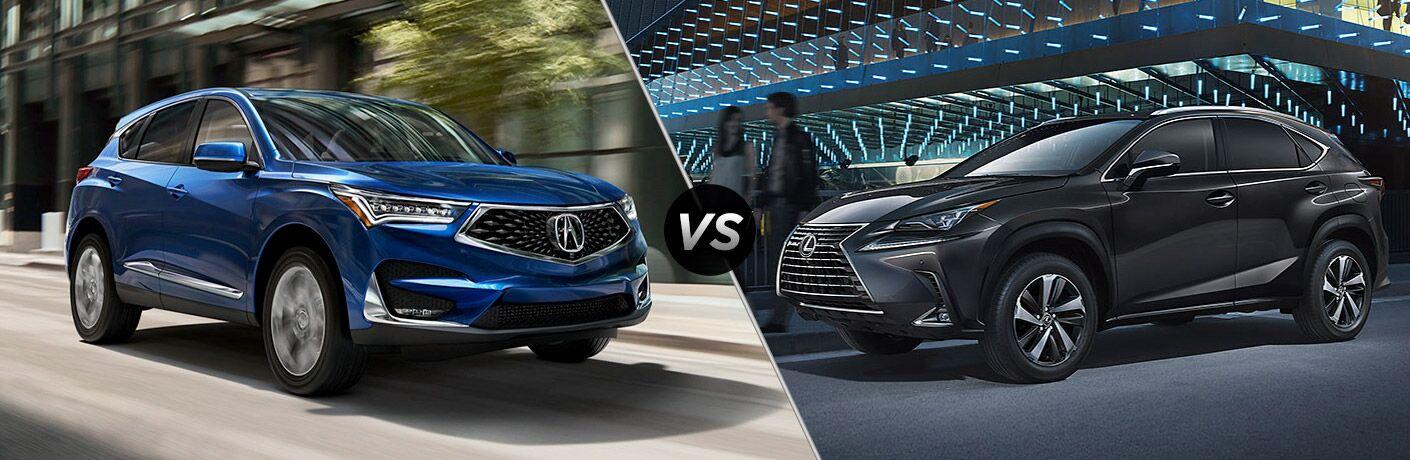 2019 Acura RDX vs 2019 Lexus NX