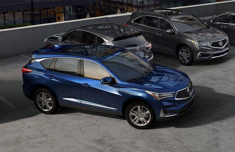 Blue 2019 Acura RDX A-Spec