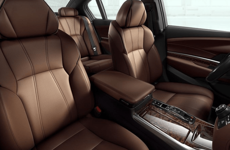 2019 Acura RLX interior front seating