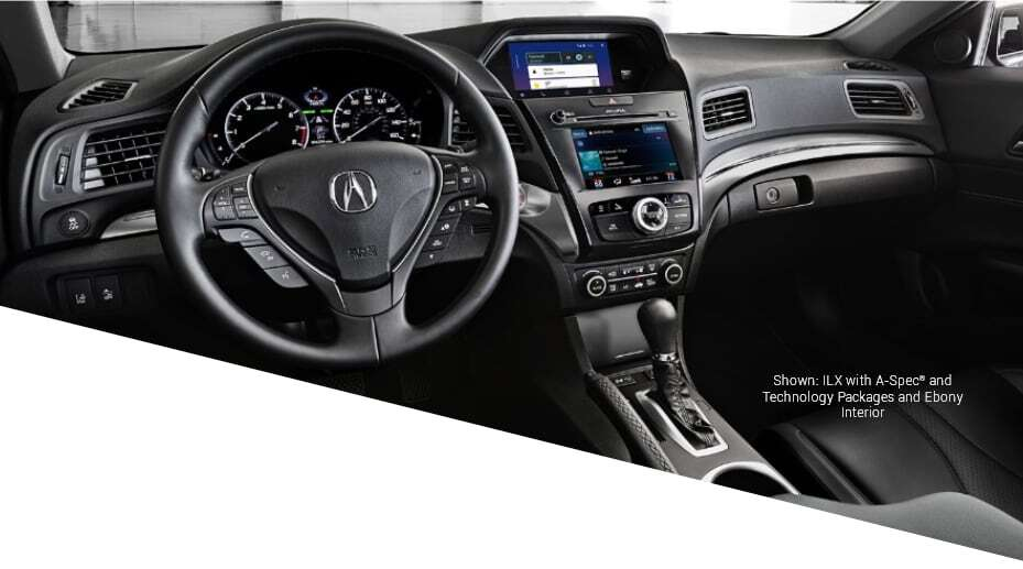 Shown: ILX with A-Spec and Technology Packages and Ebony Interior