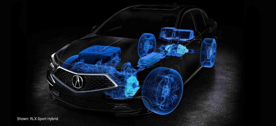Shown: RLX Sport Hybrid