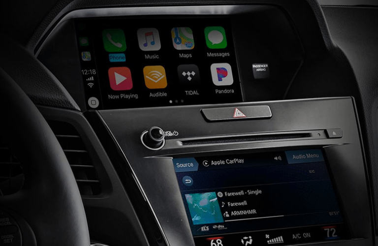2019 Acura ILX A-Spec Package interior infotainment screen