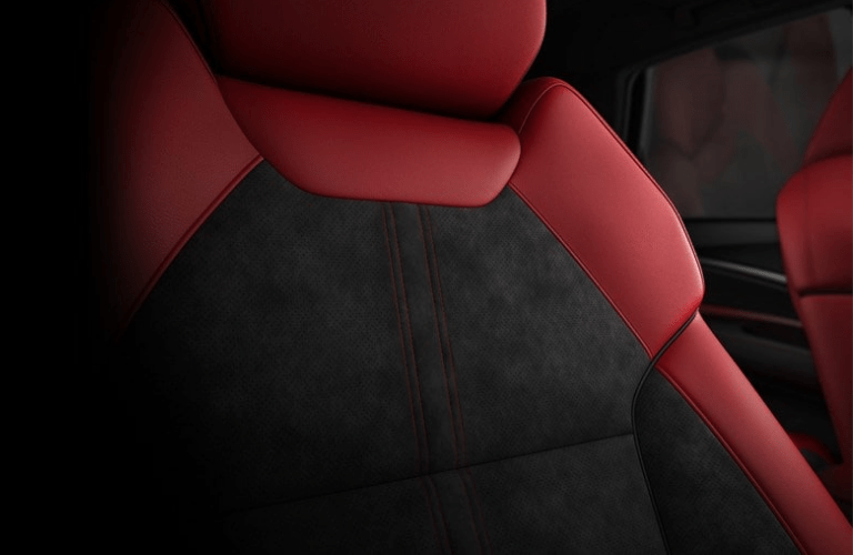 2019 Acura MDX A-Spec Package seat close up