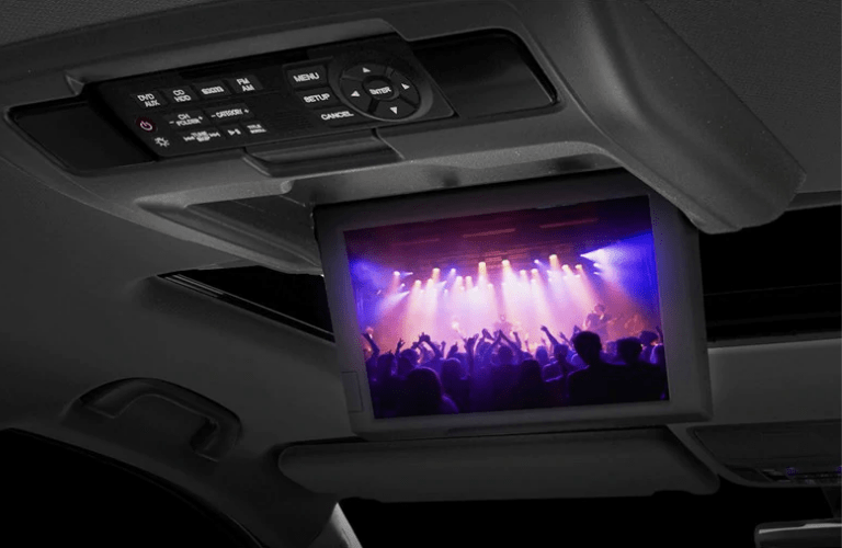 2019 Acura MDX Entertainment Package single screen